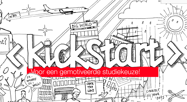 Huisstijl Kickstart Studiekeuze